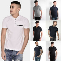 883 Police Mens Collared Designer Jersey Pique New S/S Polo Shirt T Shirt Tee