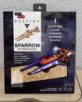 Destiny Sparrow 3D Wood Model By Incredibuilds