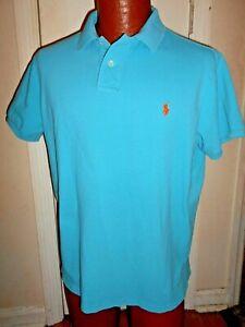 POLO by Ralph Lauren Teal Custom XL Polo Shirt.