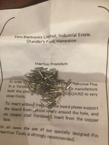 Vero Terminal Pins 1 Sided 100 Off