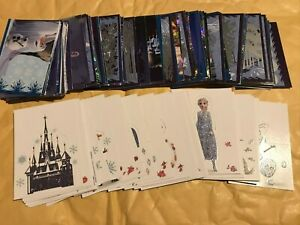 Full set of Frozen 2 Crystal Collection Stickers 140 STICKERS ONLY PLEASE READ