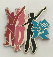 London 2012 Olympic Music Series Dancers Pin Badge