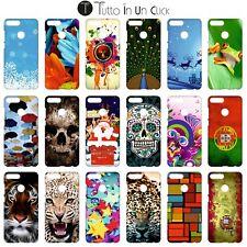 Custodia cover RIGIDA per Huawei Honor 9 Lite -  Design _186_203