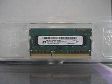 MICRON 4 GB 2x2GB Ram PC3L-12800S DDR3 1600 MHz MAC/PC Memoria MT8JTF25664HZ-1G6M1