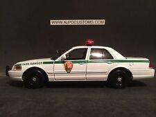U.S Park Ranger 1:24 Scale Ford Crown Victoria Replica Cruiser
