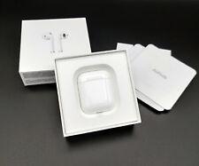 Excelente + + Apple AirPods 1st Gen MMEF 2AM/A Auriculares Bluetooth Inalámbricos + Caja