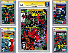 SPIDER-MAN #8-9-10-11-12 CGC-SS 9.4 AVG *ALL 5 SIGNED BY TODD MCFARLANE* 1991