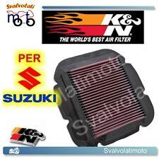 FILTRO ARIA SPORTIVO K&N-KN-K N SUZUKI DL STROM 650 V 2010 2011 2012 SU-1002