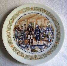 Limoges Lafayette Legacy First Edition Porcelain Collector Plate D'Arceau 1974