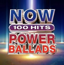NOW 100 Hits Power Ballads BRAND NEW 6CD BOXSET