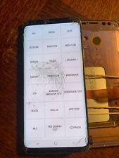 Ecran LCD SAMSUNG GALAXY S9+ G965 - vitre cassée + défaut - S9+4