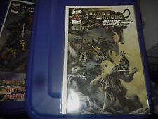 Transformers/G.I. Joe (2003); 2 - 6 (2, 3, 4, 5, 6); 5 issue run/lot; Jae Lee
