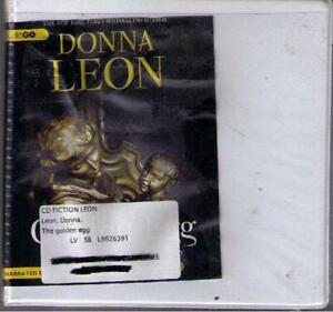 The Golden Egg by Donna Leon (2013) CD Complete & Unabridged Brunetti
