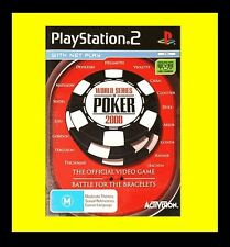 World Series of Poker 2008 Sony PlayStation 2 PS2 PAL Brand New