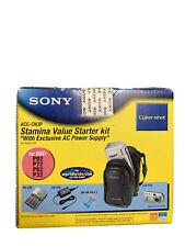 Sony Digital Camera Stamina Value Kit ACC-CN3P, New, Sealed Accessory Kit
