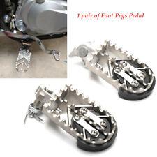 2X Motorbike Bike Foot Pegs Protector Guard Pad Steel Plastic Forefoot Pedals