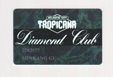 Players Slot Club Rewards Card Tropicana Diamond Club Atlantic City New Jersey