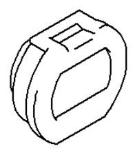 VAUXHALL REMOTE CONTROL - GENUINE NEW - 93196978