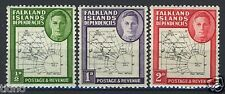 Falkland Isl. Dependencies 1948, Map on stamp, Fine printing 1L1-3 MNH