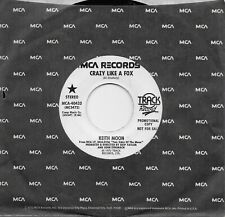 KEITH MOON  Crazy Like A Fox / In My Life rare promo 45 from 1975  THE WHO