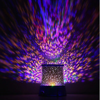 Romantic LED Starry Night Sky Projector Amazing Lamp Star light Cosmos Master