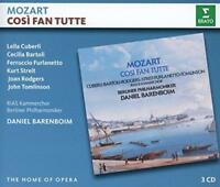 Daniel Barenboim - Mozart: Cosi Fan Tutte (NEW 3CD)