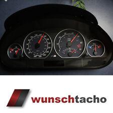 """Tachoscheibe für Tacho BMW E46 """" Carbon"""" 310 kmh alle E46"""