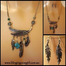Turquoise Silver Plated Handcrafted Necklaces & Pendants