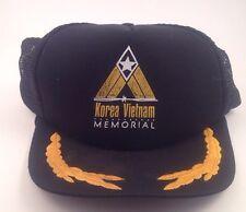 Korea Vietnam Memorial Trucker Snapback Hat