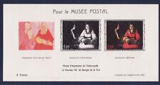 bloc Musée Postal de 1966 tableau Georges de la Tour n°1479b