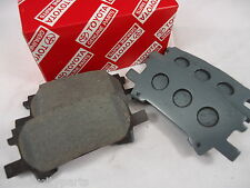 TOYOTA KLUGER REAR BRAKE PADS AUG 03 - MAY 07 MCU28 NEW GENUINE