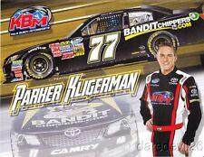 2013 Parker Kligerman Bandit Chippers Toyota Camry NASCAR Nationwide postcard