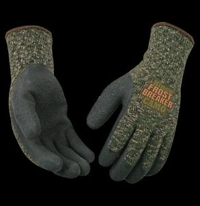 Kinco 1788 Mens Frostbreaker Camo Form Fitting Thermal Gloves Camouflage Winter