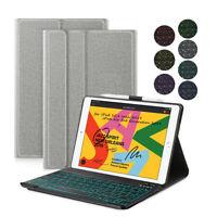 "AU For iPad Air 3rd Gen 10.5"" 2019 Backlit Bluetooth Keyboard Stand Smart Case"