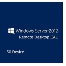 Windows Server 2012 Remote Desktop Service RDS 50 Device Cals