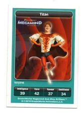 Carte Carrefour Dreamworks n° 157/216 - TITAN - Megamind   (9896)