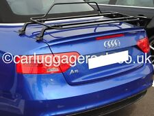 Audi A5 Convertible Cabriolet Luggage Boot Rack - Stunning black Italian Rack