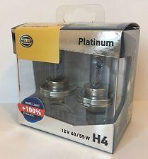 Genuine Hella H4 12V 65/55 Platinum +100%Dynamic Range Halogen Globe  Car Bulb