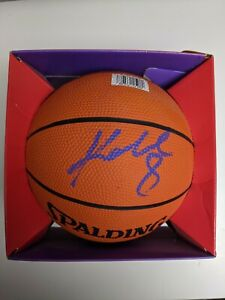 Kobe Bryant Signed Basketball. Lakers Autograph Spalding