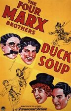 DUCK SOUP MOVIE POSTER The Marx Brothers HOT VINTAGE 1