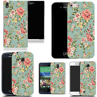 hard durable case cover for iphone & other mobile phones - elegant floral