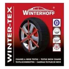 LOT 4 CHAINES CHAUSSETTES  NEIGE TEXTILE pour pneu 225/75 R16 marque winterhoff