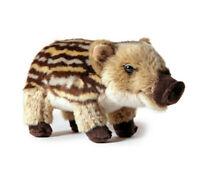 weiches braunes Wildschwein Baby 22cm Plüsch Stofftier Plüschtier Kuscheltier