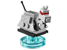 LEGO Doctor Who - Original - K-9 Robot Dog with Stand - New (removed from set)