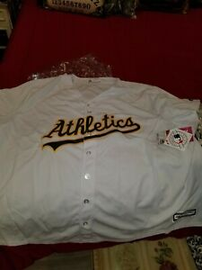 Oakland A'S Majestic Cool Base Stitched Jeresy