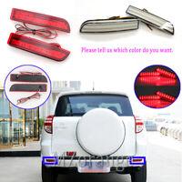 2x LED Rear Bumper Brake Light Lamp For Toyota RAV4 2006-2012 Avensis Estima