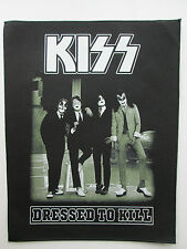 KISS DRESSED TO KILL CLASSIC ALBUM COVER SEW ON BACKPATCH