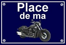 "plaque "" PLACE DE MA HARLEY DAVIDSON NIGHT ROD SPECIAL    """