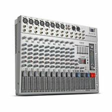 G-MARK GMX1200 Professional audio mixer dj Studio 12 channels 8 mono 2 stereo