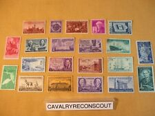U.S. Postal Lot of 3 Cent Stamps / 21 Total / Unused
